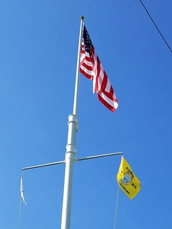 Liberty Flagpole during the Royal Wedding
